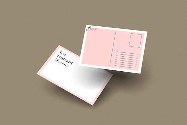 Postcard & invitation mockup 2