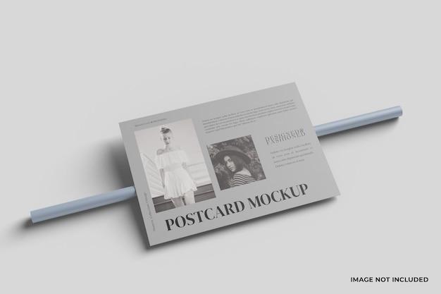 엽서 모형