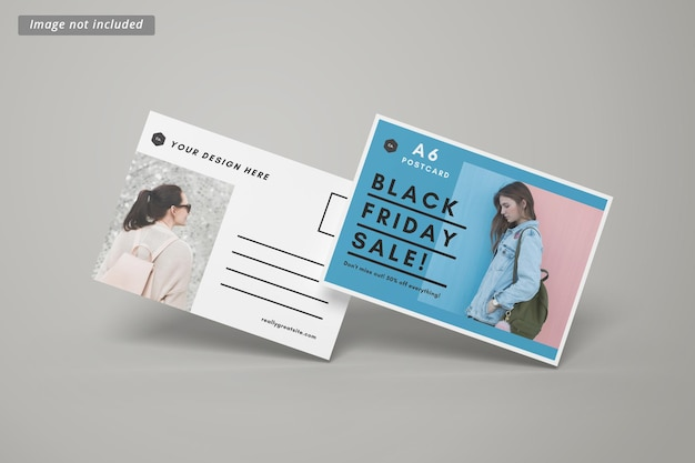 Макет открытки или приглашения