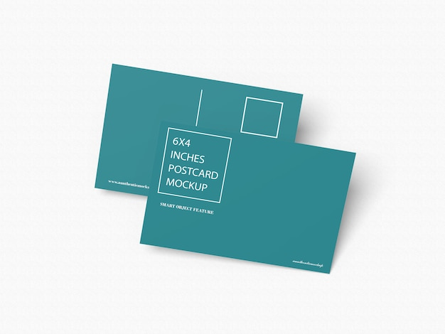 Postcards mockup