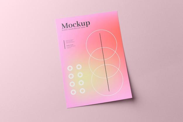 Дизайн макета плаката и флаера