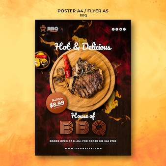 Poster per barbecue