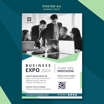 Poster for business expo