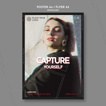 Poster for capture yourself theme