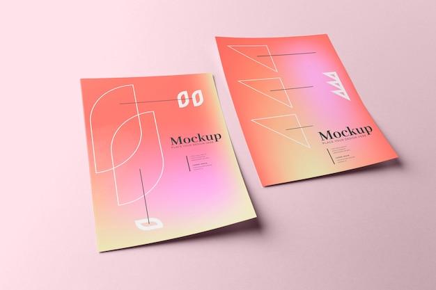 Poster and flyer mockup design