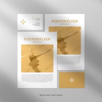 Poster or flyer mockup