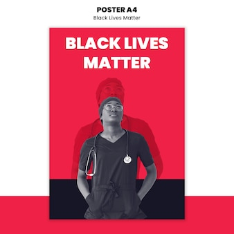 Плакат для расизма и насилия