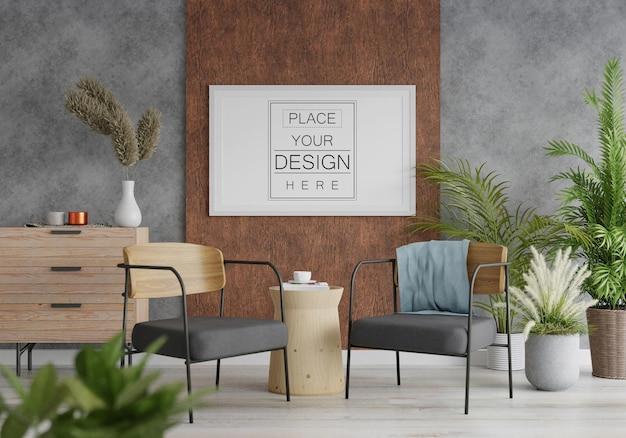 Cornice per poster in soggiorno