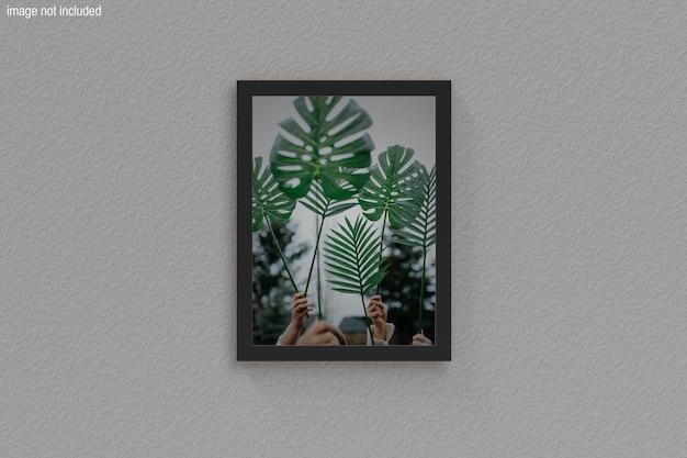 거실 현대적인 인테리어의 포스터 프레임 모형