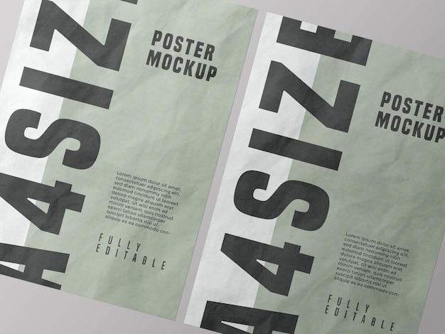 Дизайн макета плаката psd