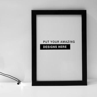 Poster template design