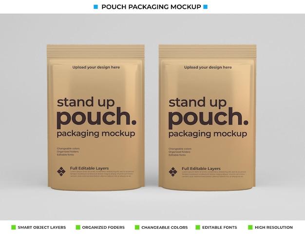 Дизайн макета пакета мешка в концепции еды