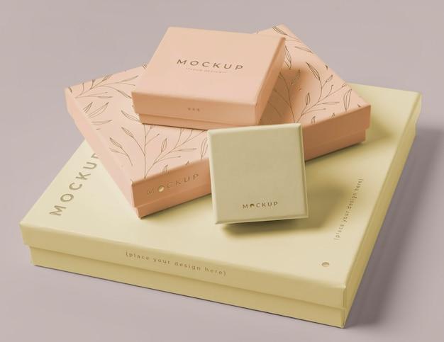 Состав макета упаковки премиум-класса