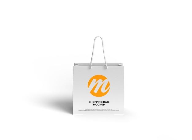 프리미엄 쇼핑백 또는 종이가방 모형 디자인
