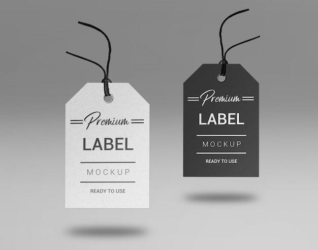 Prenium label mockup
