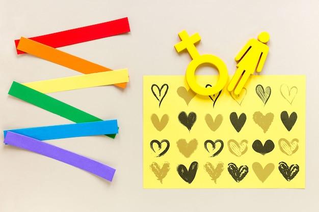 Половой символ дня гордости