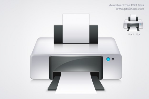 Printer icon  psd