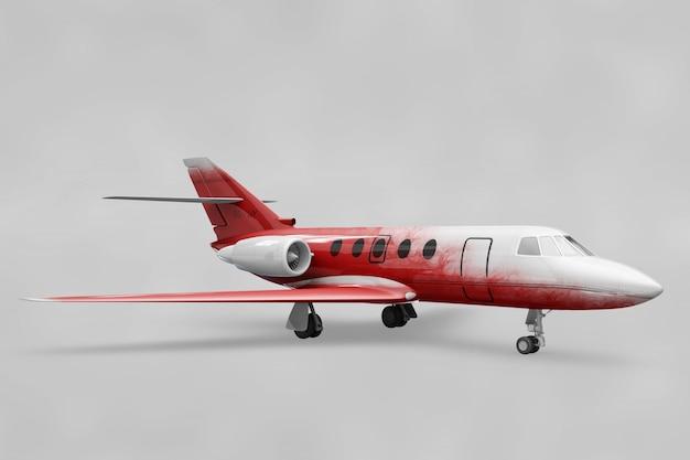 Private plane mockup
