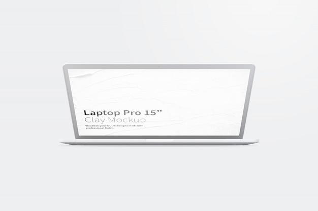 Глиняный ноутбук pro 15