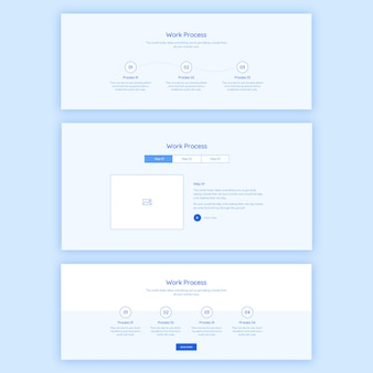Process web template