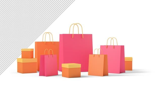제품 패키지 상자 및 쇼핑백