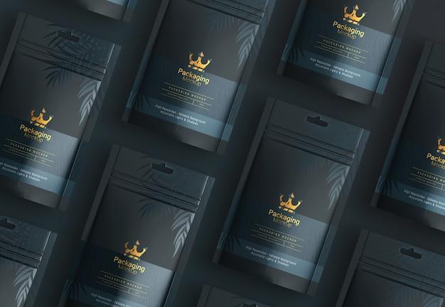 Мокап упаковки продукта от митхуна митры