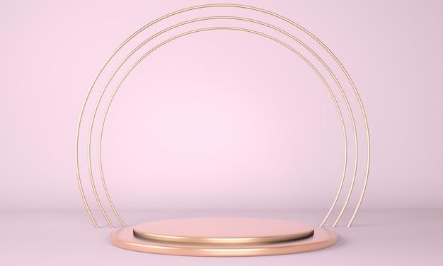 Подиум продукта как абстрактная минимальная геометрическая концепция