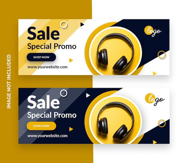 Product sale facebook covers template