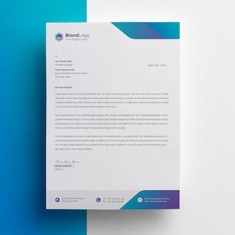Professional letterhead template