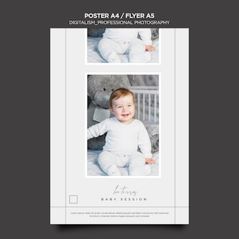 Professional photography poster design