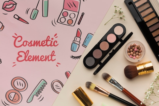 Professional products for makeup