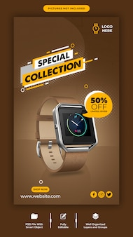 Promotion product sale instagram banner template
