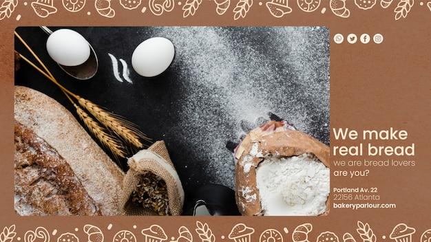 Рекламная кампания для хлебопекарного бизнеса