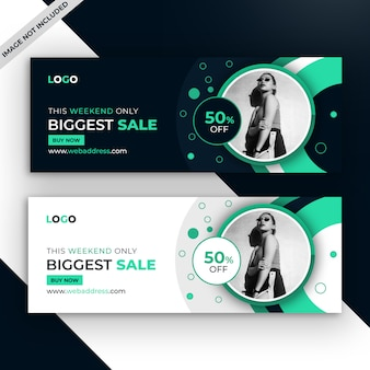 Promotional facebook sale cover