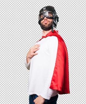 Гордый супер герой