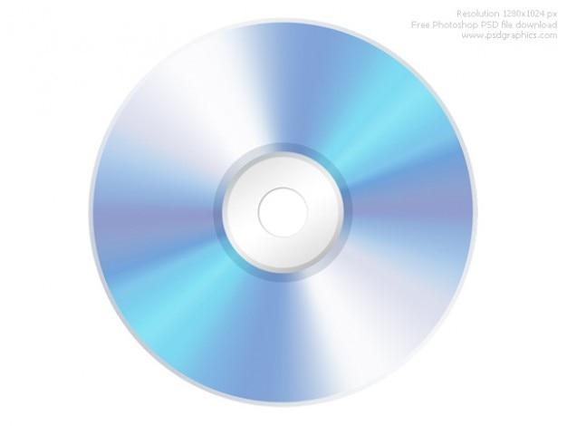 Psd компакт-диск cd значок