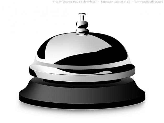 Psd службы поддержки колокольчик икона
