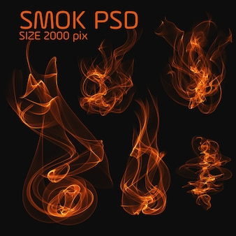 Psd fire smoke
