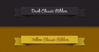 Psd ribbon classic set