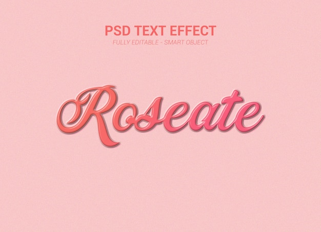 Psd text effect