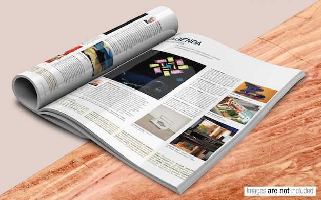 Журнал psd макет