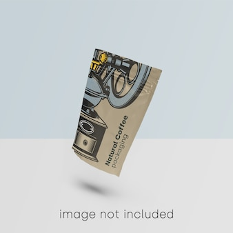 Упаковка макета для кофейни psd