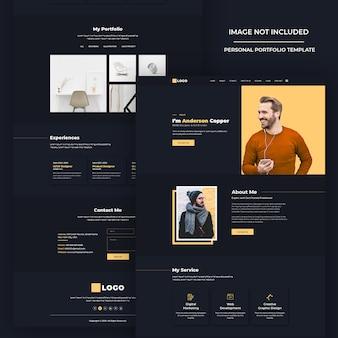 Современный дизайн сайта psd шаблон