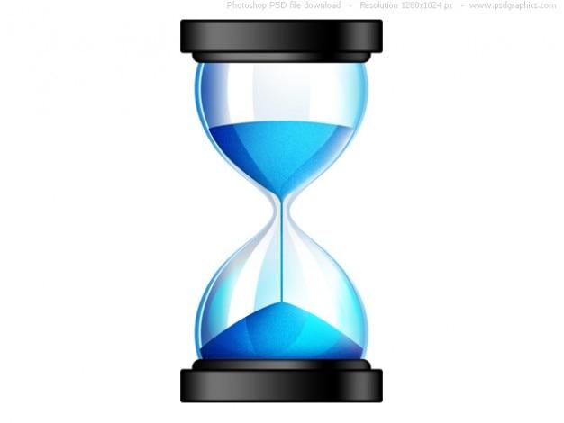 Пески времени, psd песочные часы значок