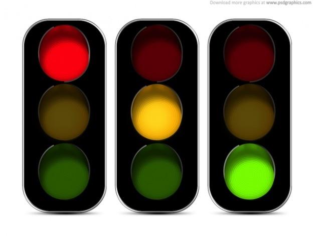 Светофоры значок (psd)