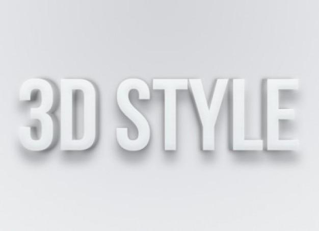 灰色のテキストエフェクトのスタイルpsdファイル