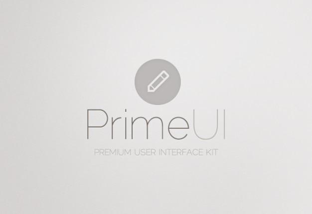 ユーザーインターフェースキットのpsd素材