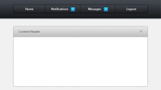 管理コントロールパネルには、psdファイル