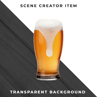 Пиво прозрачное psd
