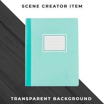 ノートブックオブジェクトの透明なpsd